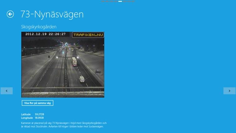 Trafiken Sverige-skärmbild 5