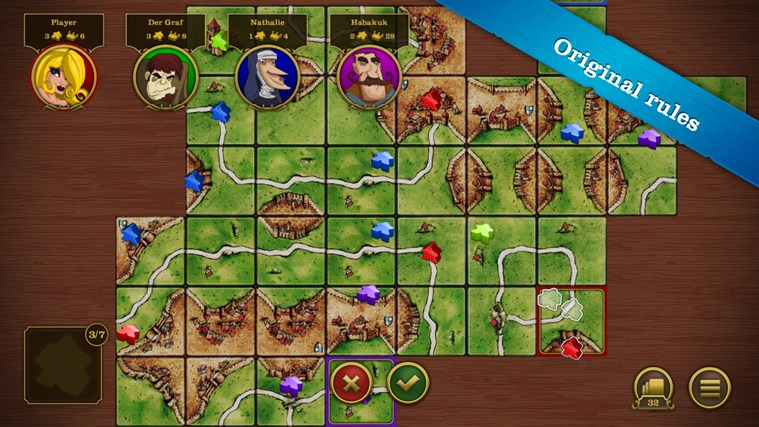 Carcassonne screen shot 3