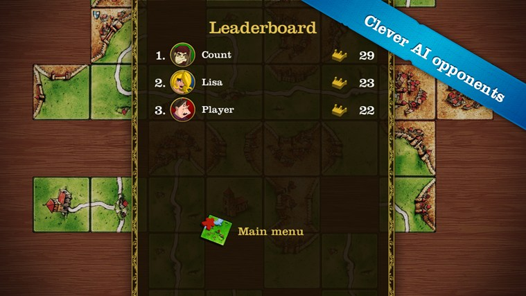 Carcassonne screen shot 5