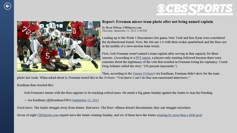 CBS Sports screen shot 3