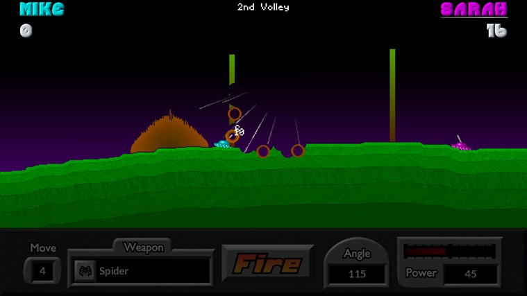Pocket Tanks screen shot 7