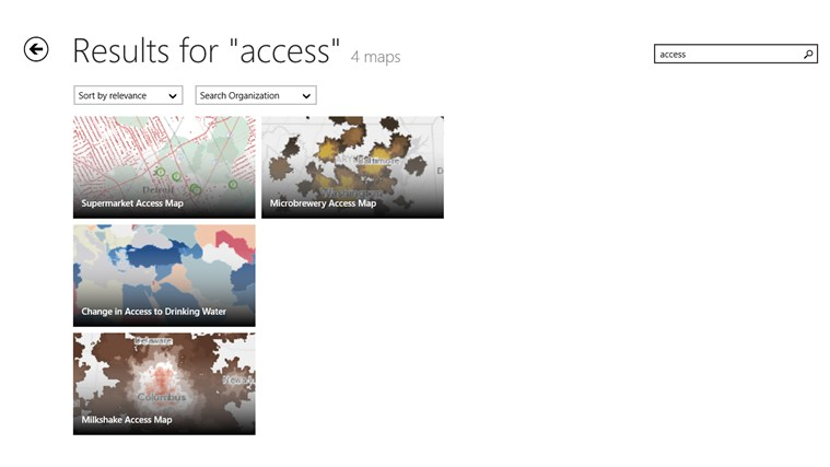 ArcGIS screen shot 5