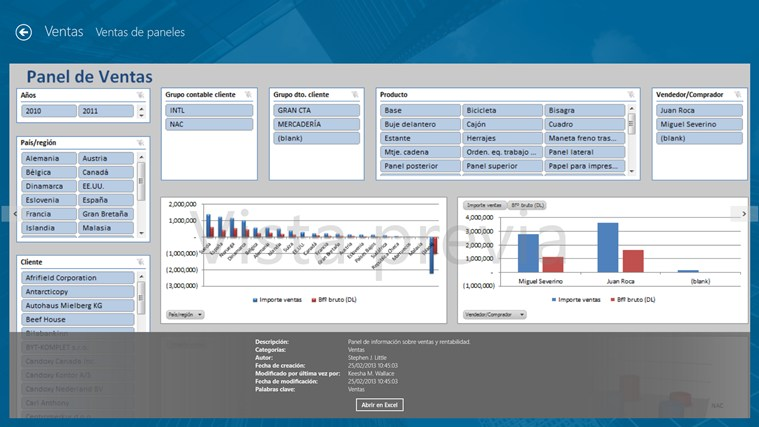 Jet Reports Player for Microsoft Dynamics® NAV captura de pantalla 1