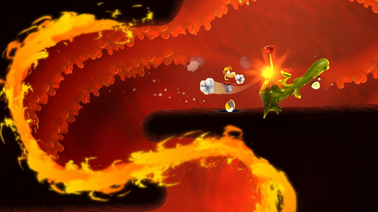Rayman Fiesta Run screen shot 1