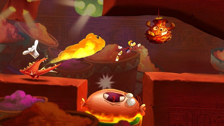 Rayman Fiesta Run screen shot 3