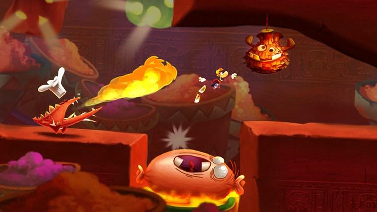 Rayman Fiesta Run capture d'écran 3