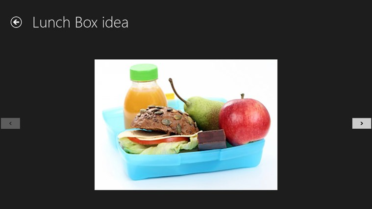 Lunch Box idea screen shot 5