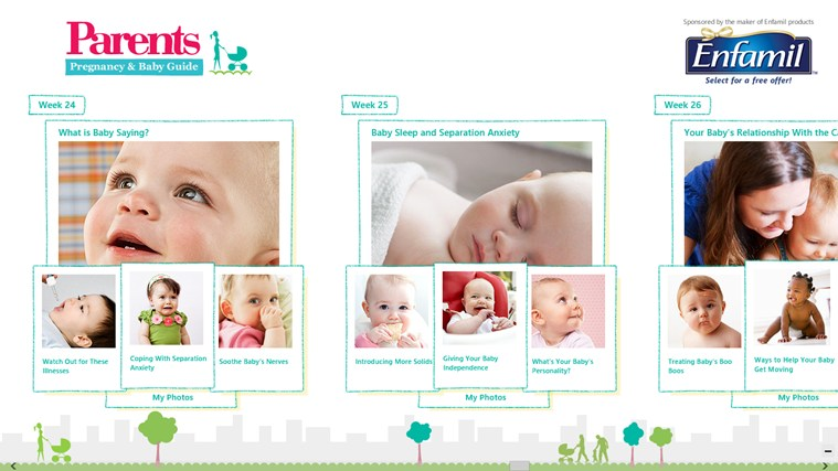 Parents Pregnancy & Baby Guide screen shot 1