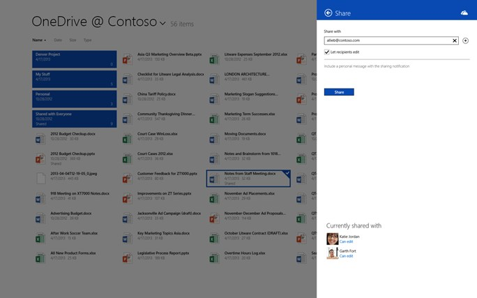 OneDrive for Business screen shot 1