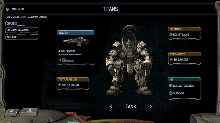 Titanfall™ Companion App screen shot 1