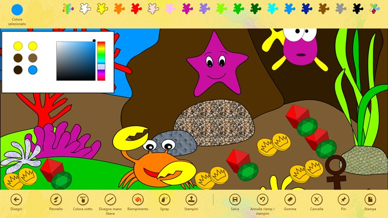 Paint 4 Kids cattura di schermata 1