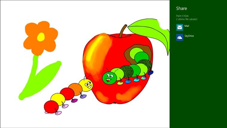 Paint 4 Kids cattura di schermata 5