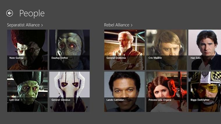 Star Wars Almanac screen shot 1