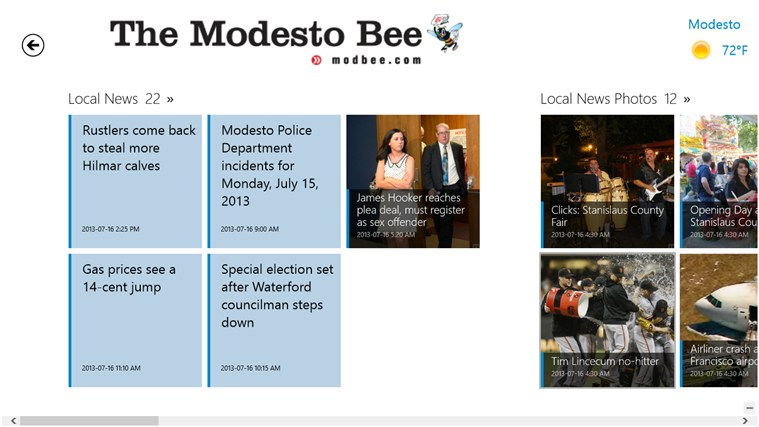 The Modesto Bee screen shot 7
