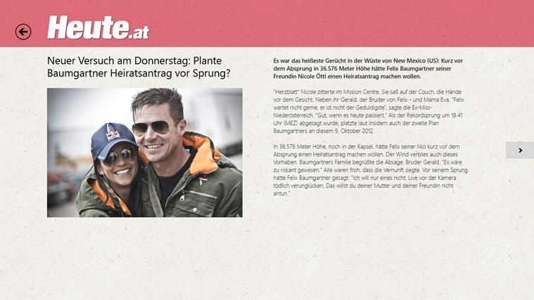 HEUTE - Die Tageszeitung Screenshot 1