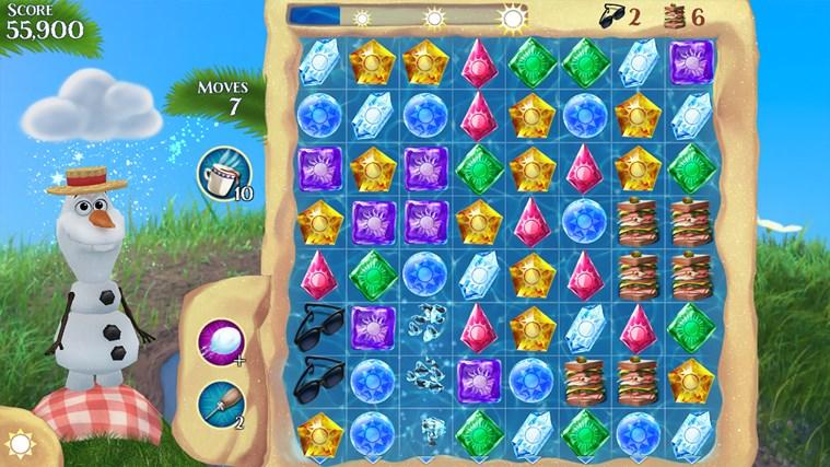 Frozen Free Fall screen shot 3