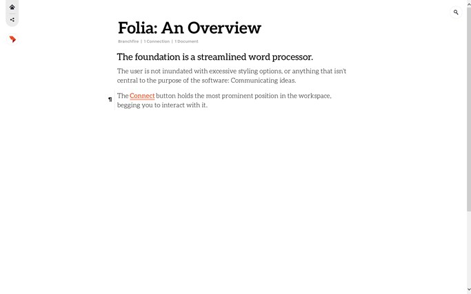 Folia screen shot 1