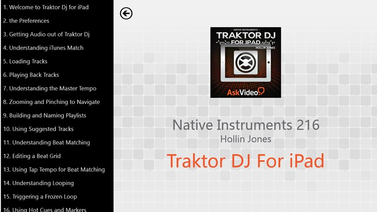 NI: Traktor DJ For iPad screen shot 1