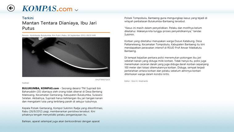 Kompas.com screen shot 3