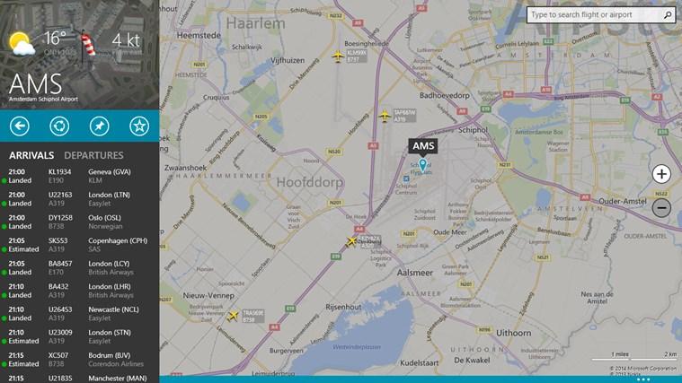 FlightRadar24 schermafbeelding 1
