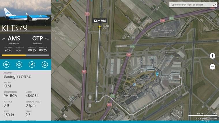 FlightRadar24-skärmbild 3