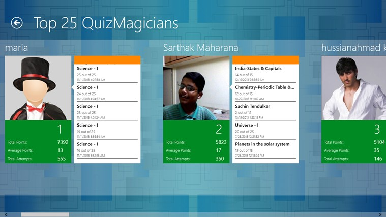 QuizMagic screen shot 3