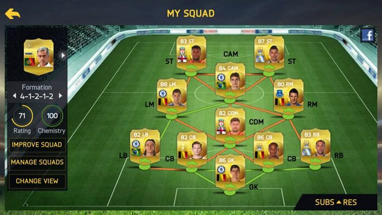 FIFA 15: UT screen shot 1