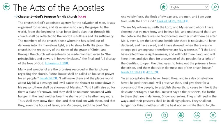 EGW Writings screen shot 3