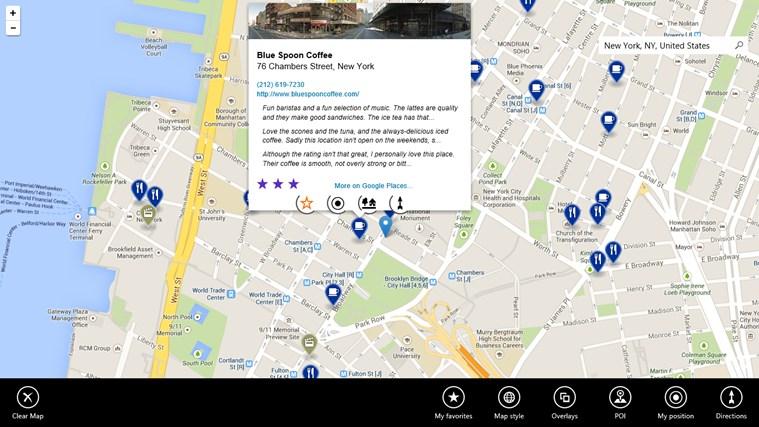 Maps Pro screen shot 1