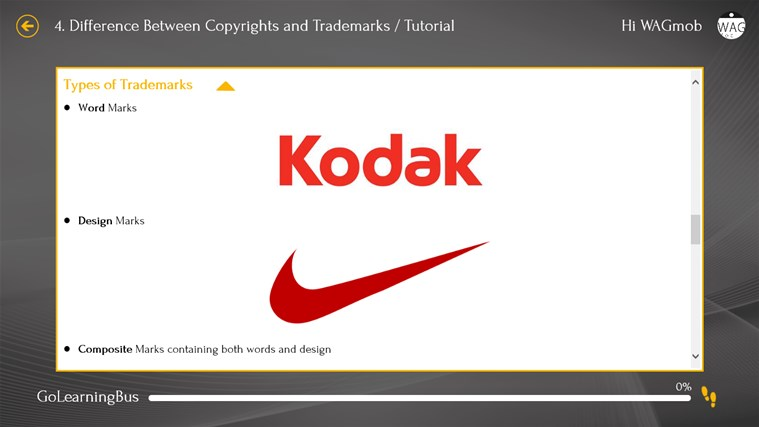 Patent by WAGmob screenshot 5