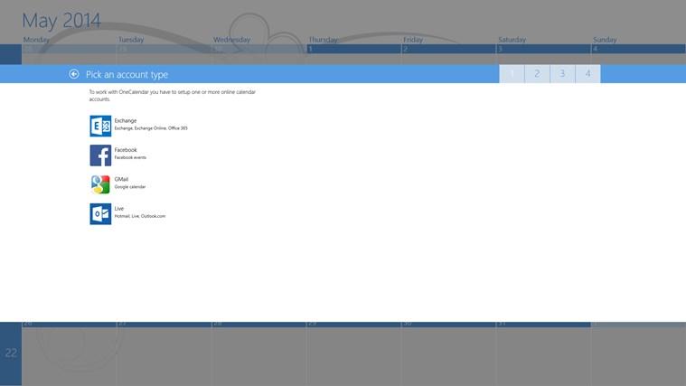 OneCalendar screen shot 1