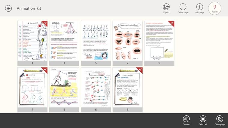 NoteLedge - Note, Sketch, Audio & Video screen shot 5