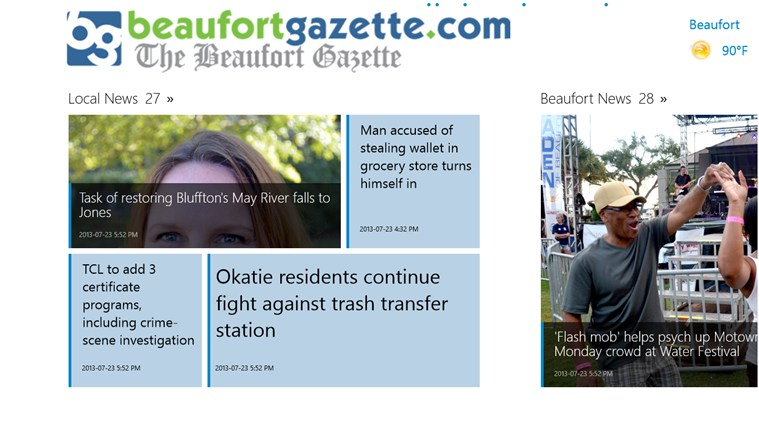 The Beaufort Gazette screen shot 1
