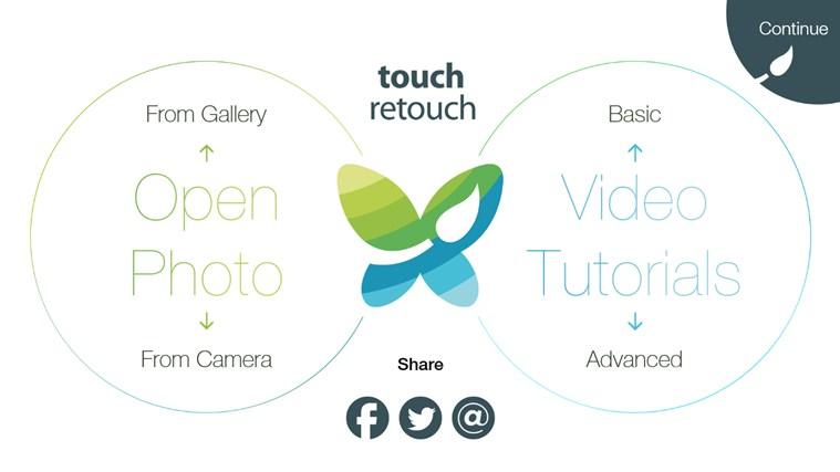 TouchRetouch screen shot 1