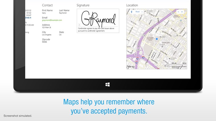 Credit Card Terminal screen shot 1