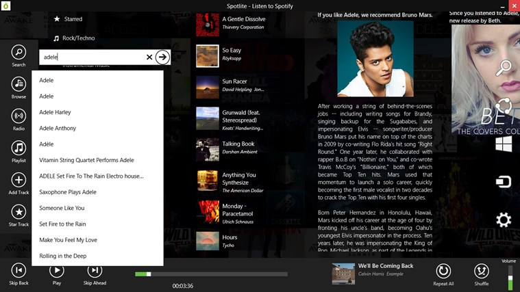 Spotlite - Listen to Spotify screen shot 3