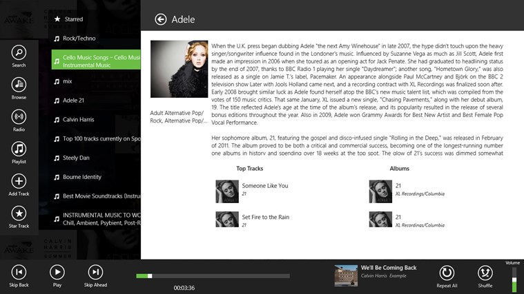 Spotlite - Listen to Spotify screen shot 5