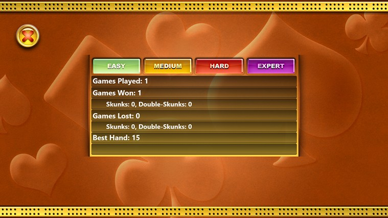 Cribbage screen shot 7