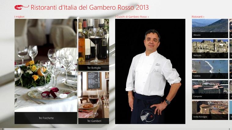 Ristoranti d'Italia del Gambero Rosso 2013 cattura di schermata 1
