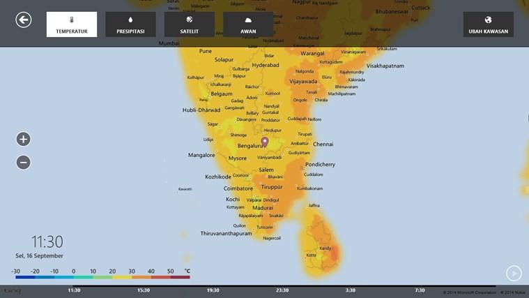 MSN Cuaca screenshot 5