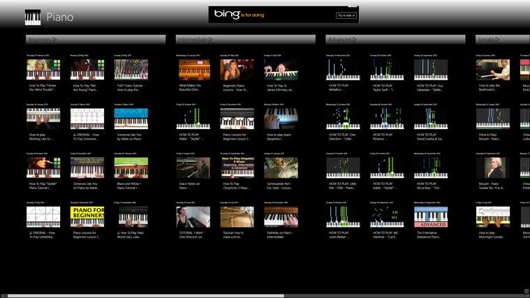 Learn Piano screen shot 1