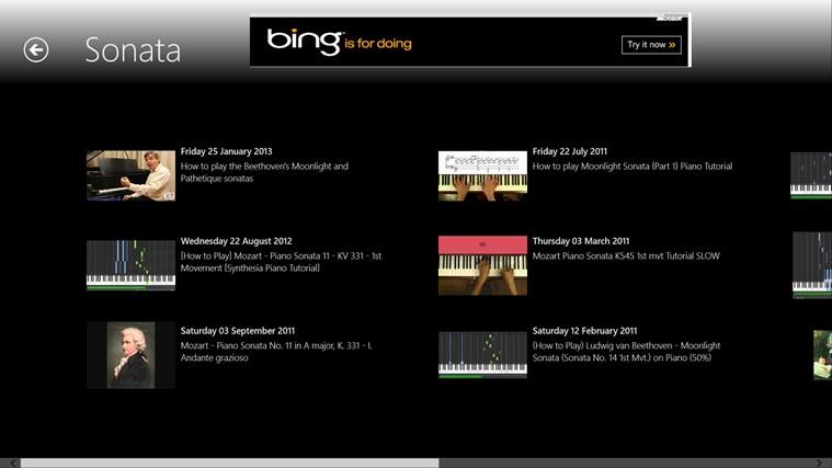 Learn Piano screen shot 3