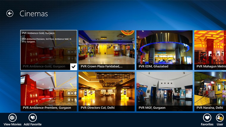 PVR Cinemas screen shot 3