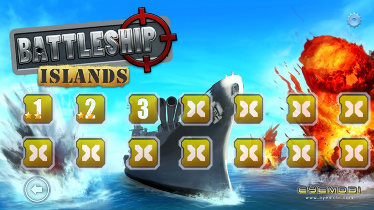 Battleship Islands screen shot 1