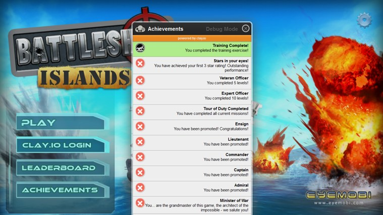 Battleship Islands screen shot 7
