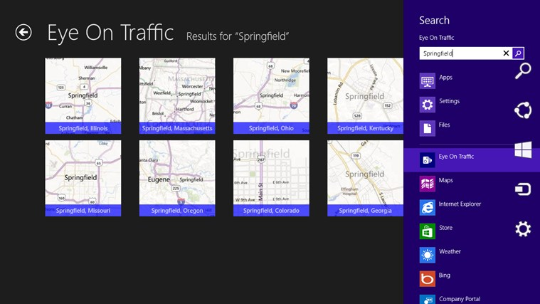 Eye on Traffic screen shot 1