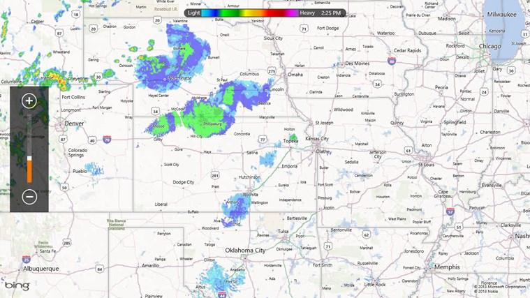 MyRadar Weather Radar screen shot 5