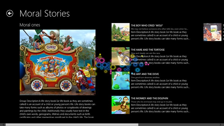 Story Books screen shot 1