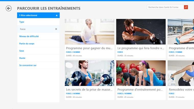 MSN Santé & Forme capture d'écran 1