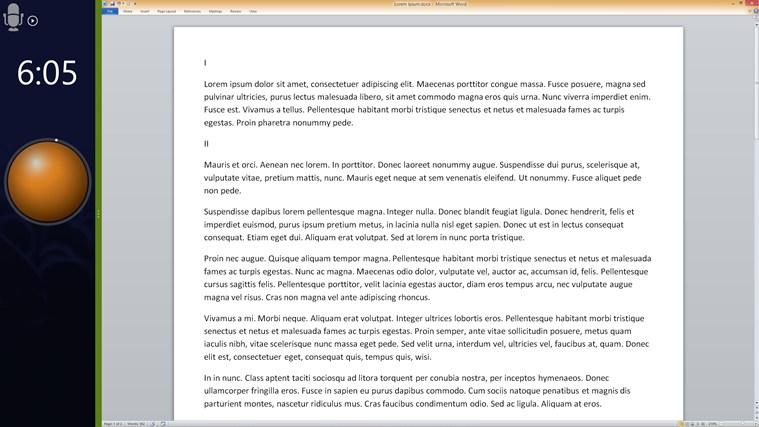 Speech Timer Free screen shot 3